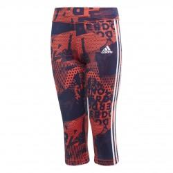 Adidas YG GU 3/4 Tight Lány Gyerek 3/4-es Nadrág (Piros-Kék) CF7160