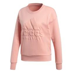 Adidas Sport ID Sweatshirt Női Pulóver (Rózsaszín) CD7774
