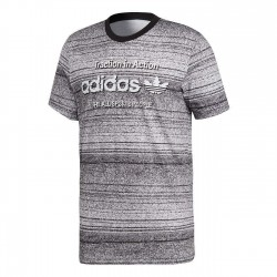 Adidas Originals Traction AOP Férfi Póló (Fekete-Fehér) CE2247