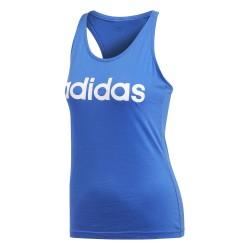 Adidas Essentials Linear Slim Tank Top Női Top (Kék-Fehér) CE4120