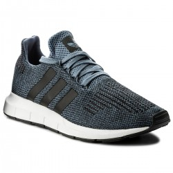 Adidas Originals Swift Run Férfi Cipő (Sötétkék-Fehér) CQ2120
