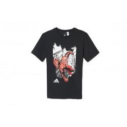 Adidas Spidey In NY Tee Fiú Gyerek Póló (Fekete-Színes) S97034