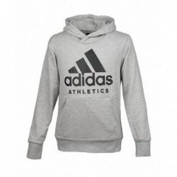 Adidas SID Branded P/O Férfi Pulóver (Szürke-Fekete) B47375