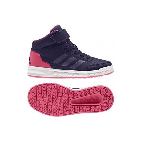 Adidas AltaSport Mid EL K Lány Gyerek Cipő (Rózsaszín-Lila) CG3339