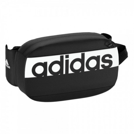Adidas Linear Performance Waist Bag Övtáska (Fekete-Fehér) S99983