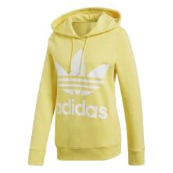 Adidas Originals Trefoil Hoodie Női Pulóver (Sárga-Fehér) CE2413