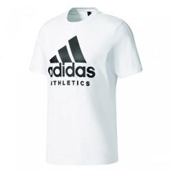 Adidas SID Branded Tee Férfi Póló (Fehér-Fekete) BK3715
