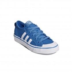 Adidas Originals Nizza J Női Cipő (Kék-Fehér) CQ2062
