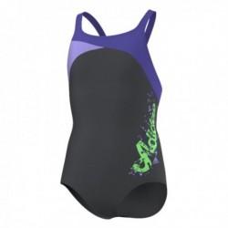 Adidas Young Girl Lány Úszódressz (Sötétszürke) AB6101