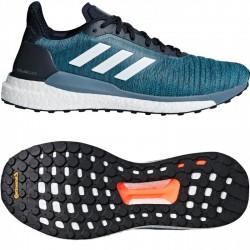 Adidas Solar Glide M Férfi Futó Cipő (Kék-Fehér) AQ0332