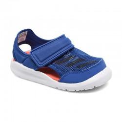 Adidas FortaSwim I Kisfiú Gyerek Szandál (Kék-Narancssárga) AC8148