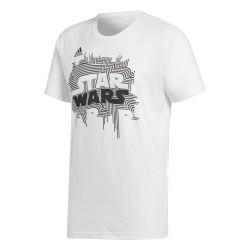 Adidas Star Wars Tee Férfi Póló (Fehér-Fekete) CE2204