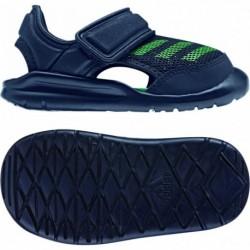 Adidas FortaSwim I Kisfiú Szandál (Kék-Zöld) BA9375