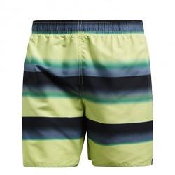 Adidas Stripe SH SL Férfi Úszó Short (Sárga-Zöld-Fekete) CV5197