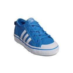 Adidas Originals Nizza C Lány Gyerek Cipő (Kék-Fehér) CQ2256