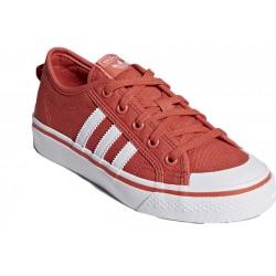 Adidas Originals Nizza J Női Cipő (Piros-Fehér) CQ2063