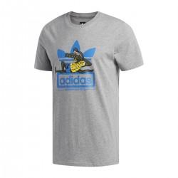 Adidas Originals LAID OUT Tee Férfi Póló (Szürke-Színes) CF3117