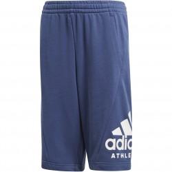 Adidas Sport ID Shorts Fiú Gyerek Short (Kék-Fehér) CF6442