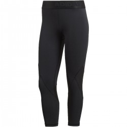 Adidas Alphaskin Sport Heather 3/4 Tights Női 3/4-es Nadrág (Fekete) CF6556