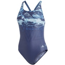 Adidas Parley Swimsuit Női Úszó Dressz (Kék) CV3628