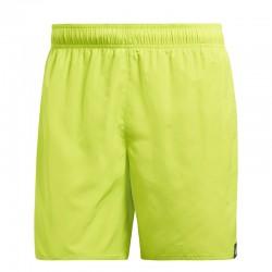 Adidas Solid Swim Short Férfi Úszó Short (Sárga) CV5131