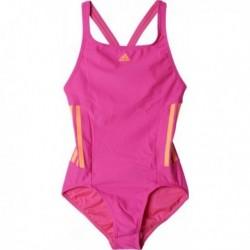 Adidas INF 3 Stripes Swimsuit Lány Úszódressz (Rózsaszín-Sárga) BP9512