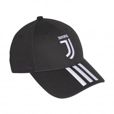 Adidas Juventus 3 Stripes Cap Baseball Sapka (Fekete-Fehér) CY5558 121fc3b684