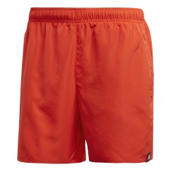 Adidas Solid Swim Short Férfi Úszó Short (Piros) CV5191