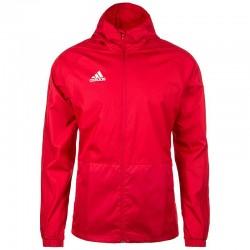 Adidas CON18 Rain Jacket Férfi Eső Kabát (Piros-Fehér) DM2653