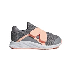 Adidas FortaRun X Kislány Gyerek Cipő (Szürke-Barack) AH2479