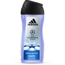 Adidas UEFA Champions League Arena Edition Hair & Body Tusfürdő 250 ml 813088