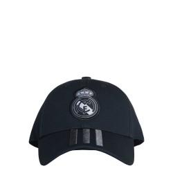 Adidas Real Madrid 3 Stripes Baseball Sapka (Sötétszürke) CY5601
