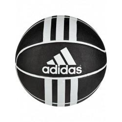 Adidas 3 Stripes Rubber X Ball Kosárlabda (Fekete-Fehér) 279008