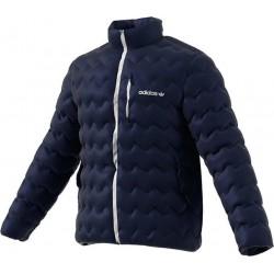 Adidas Serrated Padded Jacket Férfi Kabát (Kék) BR4773