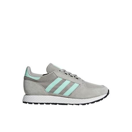 Adidas Originals Forest Grove W Női Cipő (Szürke-Zöld) B75612