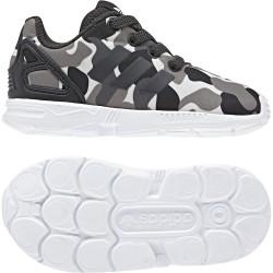 Adidas Originals ZX FLUX EL I  Kisfiú Gyerek Cipő (Fekete-Fehér) AQ1744