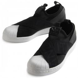 Adidas Originals Superstar Slip On W Női Cipő (Fekete-Fehér) CQ2382