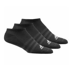 Adidas 3 Stripes No Show Socks 3P 3 Páras Zokni (Fekete-Fehér) AA2280
