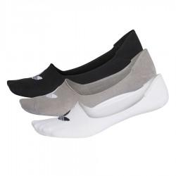 Adidas Originals Titokzokni 3 Páras (Fehér-Szürke-Fekete)) CV5942