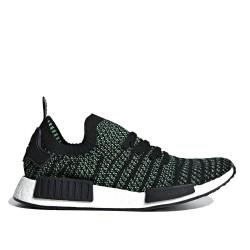 Adidas Originals NMD R1 Férfi Cipő (Zöld-Fekete-Fehér) AQ0936