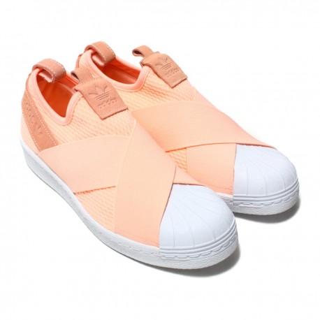 Adidas Originals Superstar SlipOn W Női Utcai Cipő (Barack-Fehér) AQ0919