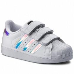 Adidas Originals Superstar CF C Lány Gyerek Cipő (Fehér-Kék-Lila) AQ6279