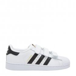 Adidas Originals Superstar CF C Fiú Gyerek Cipő (Fehér-Fekete) B26070