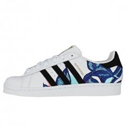 Adidas Originals Superstar W Női Cipő (Fehér-Fekete-Kék) B28014