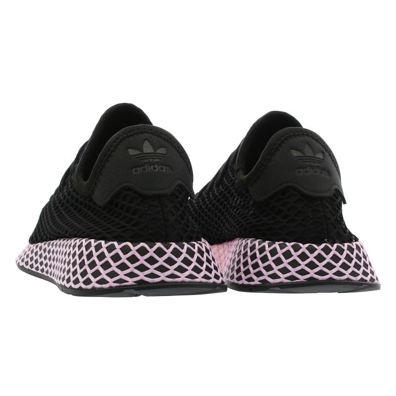 ea91d208fd Adidas Originals Deerupt Runner W Női Cipő (Fekete-Rózsaszín) B37602