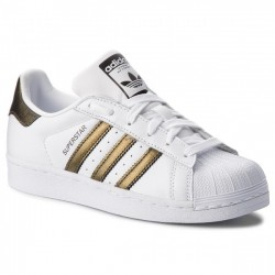 Adidas Originals Superstar W Női Cipő (Fehér-Arany) B41513