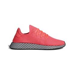 Adidas Originals Deerupt Runner Turbo Férfi Cipő (Pink-Fehér-Fekete) B41769