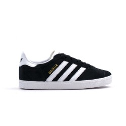Adidas Originals Gazelle C Fiú Gyerek Cipő (Fekete-Fehér) BB2507