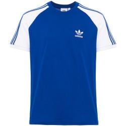 Adidas Originals 3 Stripes Tee Férfi Póló (Kék-Fehér) CW1205