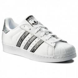 Adidas Originals Superstar W Női Cipő (Fehér-Fekete-Ezüst) CG5455